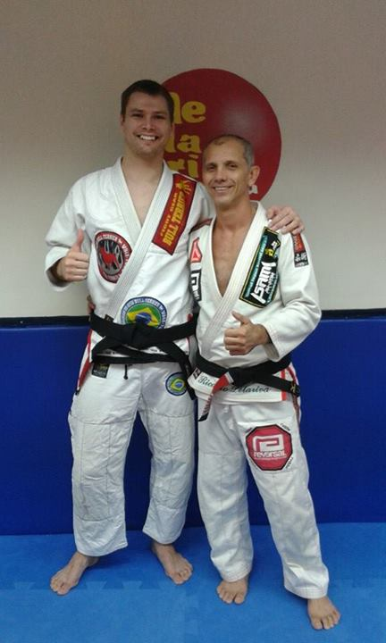 David Morcegao and Master Ricardo de la Riva